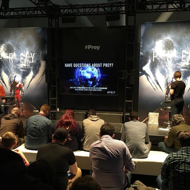 Prey gameplay demo pax paxeast2017 paxeast prey bethesda gaming videogameshellip