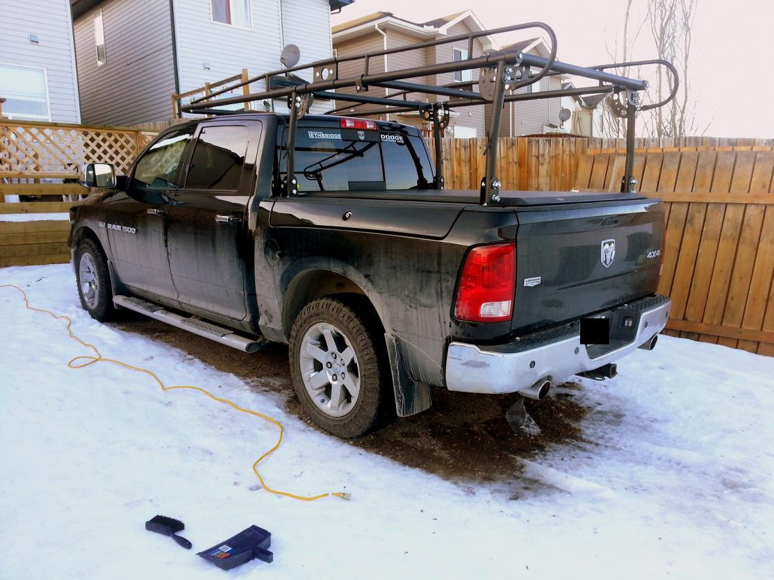 rack system with rambox bed dodge ram
