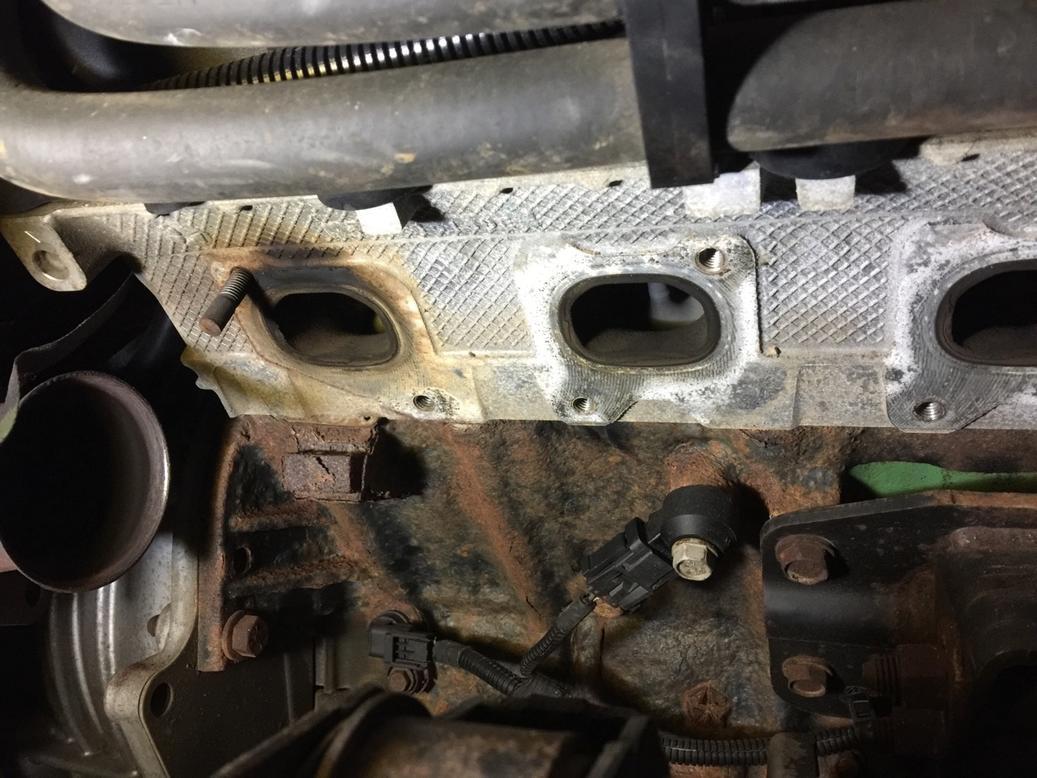 fixing exhaust leak dodge ram forum