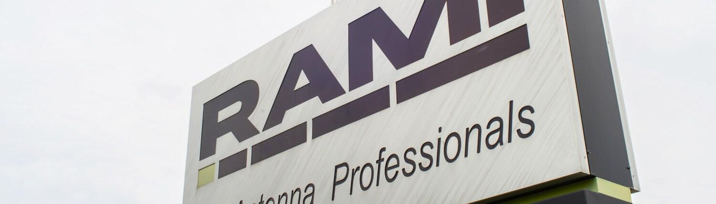 RAMI business sign