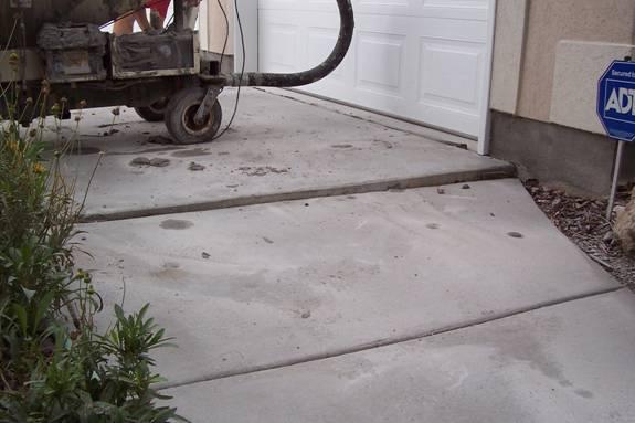 utah concrete repair concrete lifting