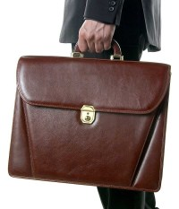 Fine leather briefcases deserve our leather cleaning and restoration