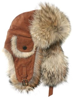 Leather & Fur Hats come out fresh and clean