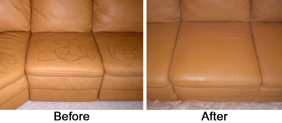 restoring leather sofa living room sets from china furniture ram care with ink before and afer