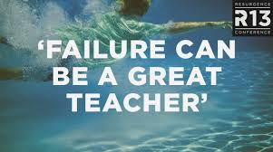 Failure is the best teacher