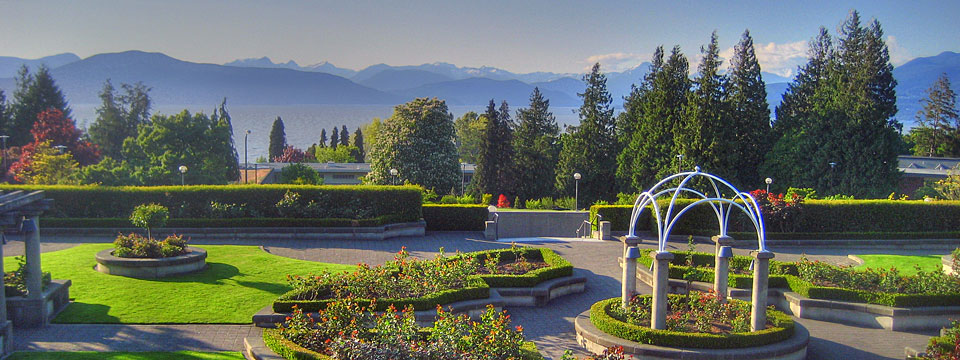 Rose Garden at University of British Columbia