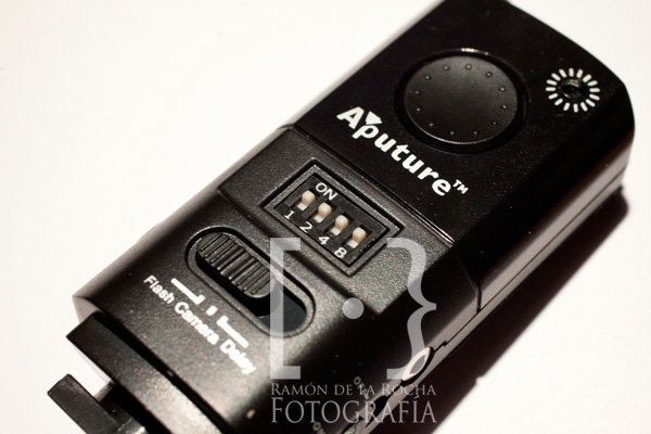 Dispositivo emisor Trigmaster de Aputure