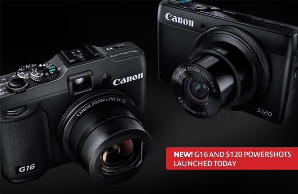 Las nuevas G16 y S120 de Canon