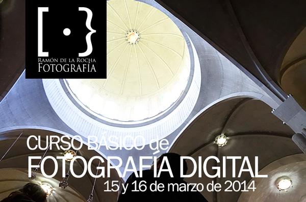Curso Básico de Fotografía Digital en Tenerife los días 15 y 16 de marzo de 2014