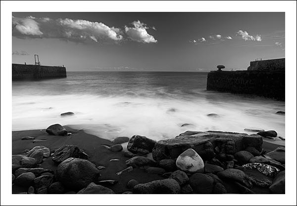 Playa de Valleseco tomada en un de los cursos de fotografía en Tenerife
