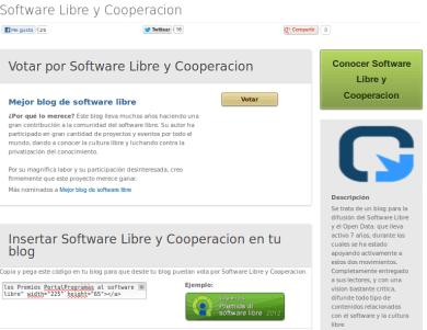 Mejor Blog Software Libre
