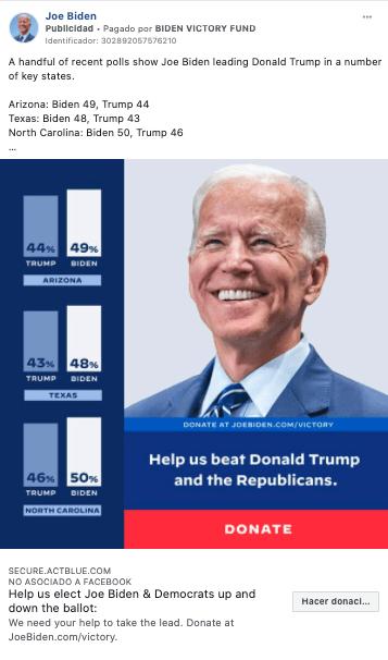 Joe Biden Facebook