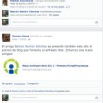 Apoyo Mejor Blog de Software Libre