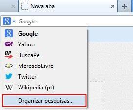 Organizar pesquisas