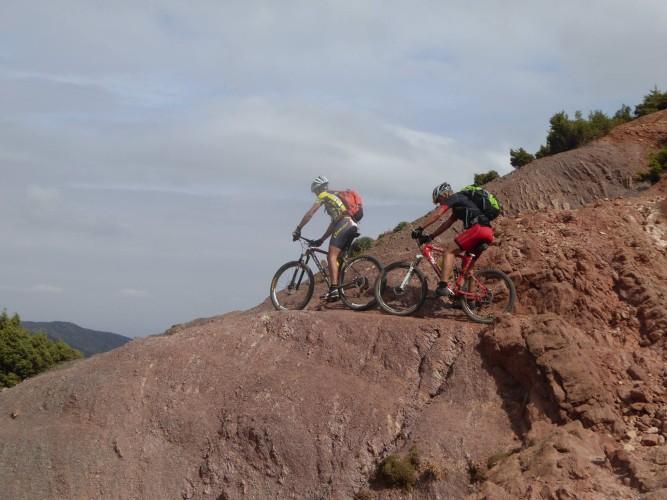 Bike Challenge Atlas Gebirge in Marokko