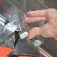 Fasten accessories to concrete or block