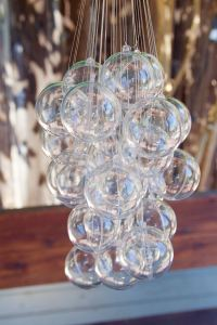 How To Make An (Inexpensive) Bubble Chandelier ...