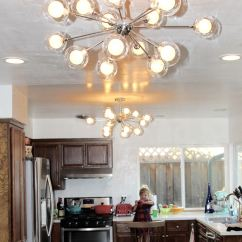 Kitchen Flush Mount Ceiling Lights For The Best Affordable Sputnik Style Midcentury Light Fixtures