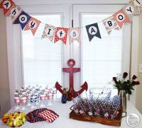 10 Ideas For A Nautical-Themed Baby Shower  Ramshackle Glam