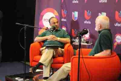 Ram with Marshall Goldsmith Univision Podcast IMG_5244