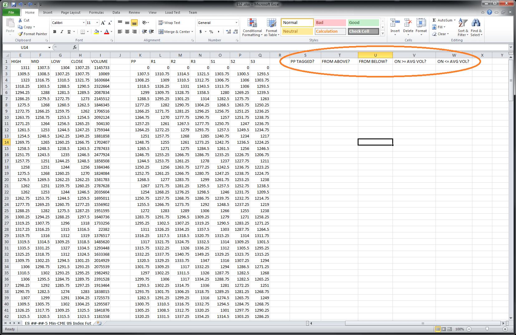 Using The Volume Profile Data Export