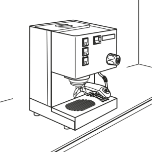 Installer la machine Rancilio Silvia