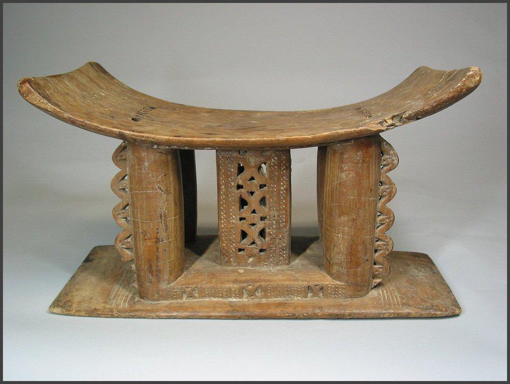 stool chair ghana big and tall mesh drafting asante rand african art