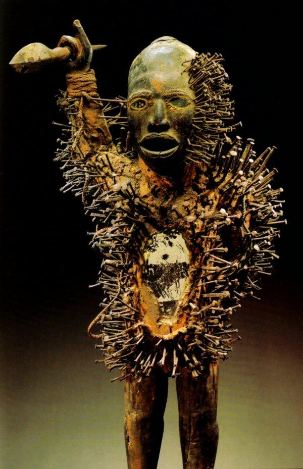 Bakongo Nkondi Nail Fetish - Rand African Art
