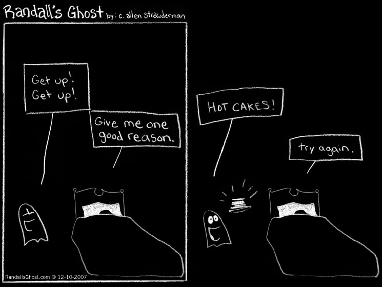randall's ghost