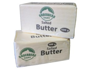 Butter 500g salted brick
