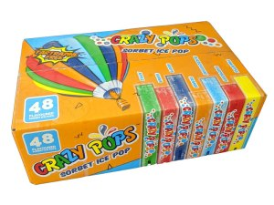 Crazy Pops Ice Lollies