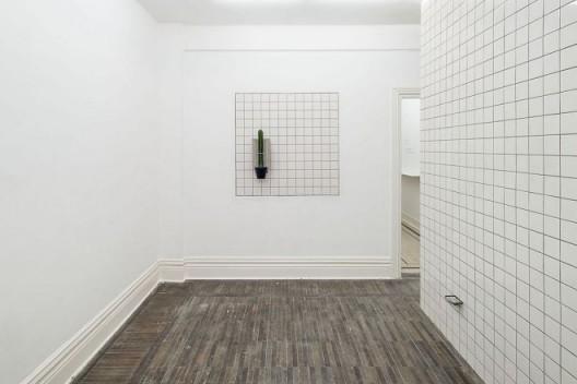 """张如怡,""""对面的楼与对面的楼"""",展览现场,2016"""