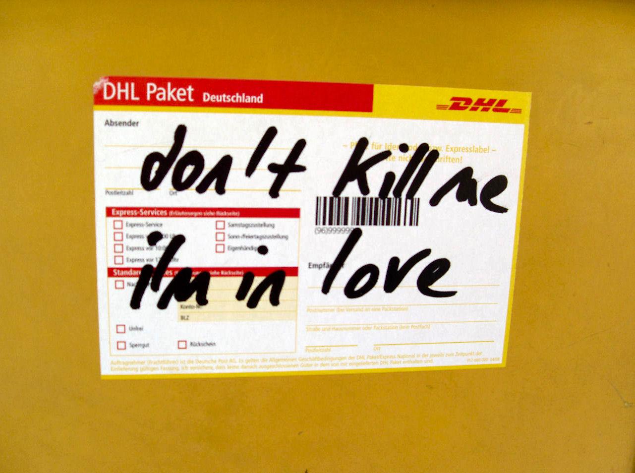 Berlin - Don't Kill Me, I'm in Love