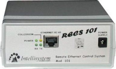 Fig. 4a - Vista frontale di RECS 101