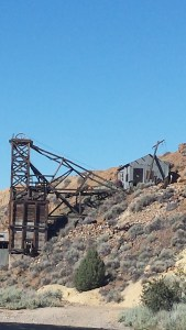 Old Mine Structures and Buildings