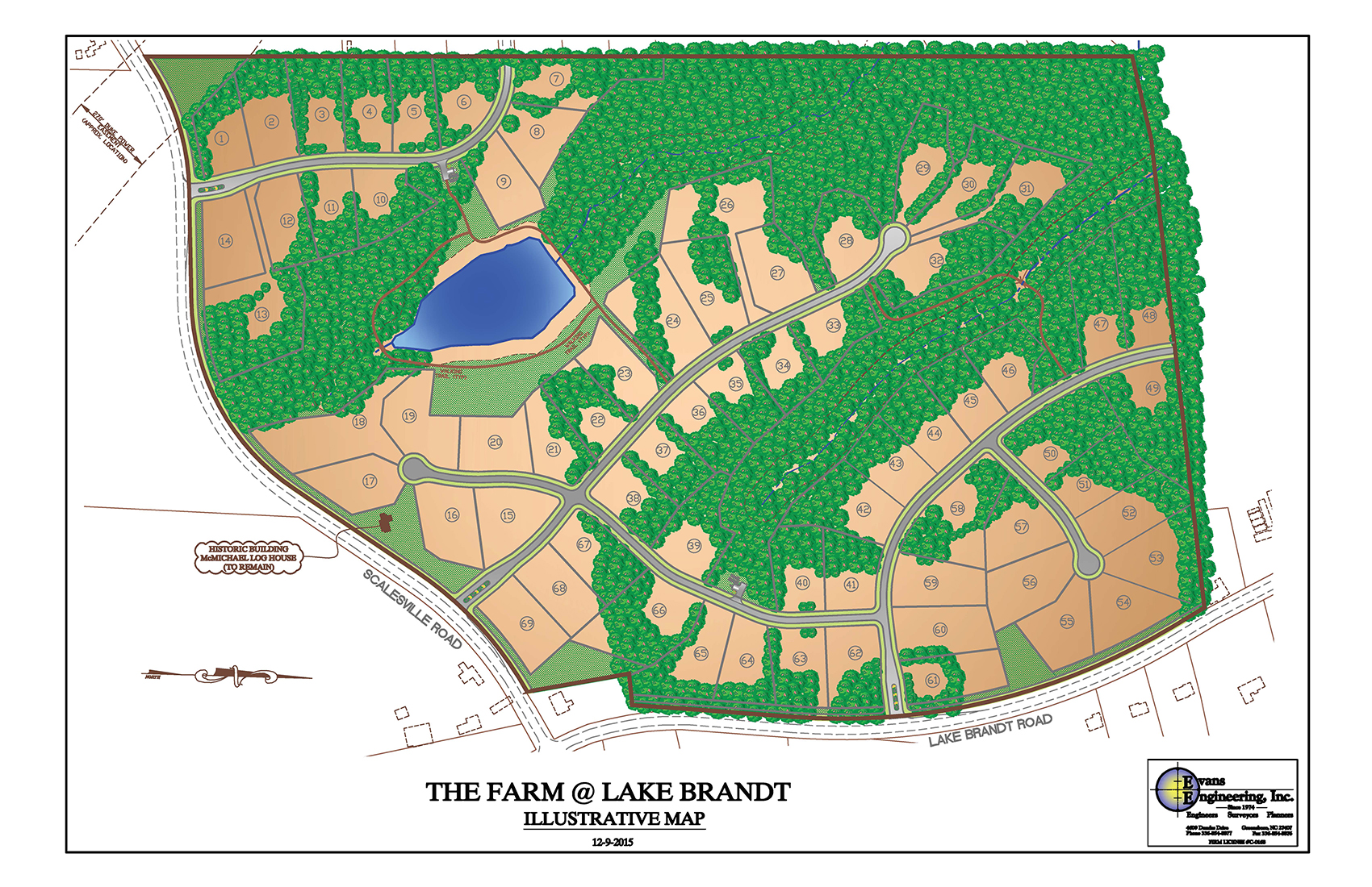 hight resolution of the farm at lake brandt neighborhood diagram