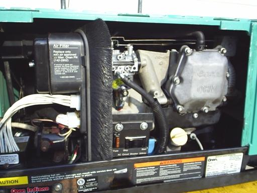 rv generator transfer switch wiring diagram 2003 honda vtx 1300 headlight r & k products : used onan 4.0kyfa26100 4000 watt microlite [4.0kyfa26100e] - $1,649.97