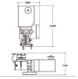rv transfer switch wiring diagram 7 pin trailer harness r & k products : lippert slide out hydraulic pump 643150 replacement for haldex [643150] - $839.97
