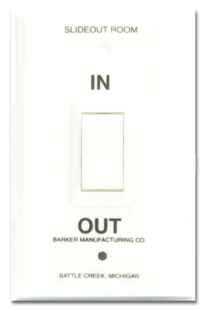 R & K Products : Barker 29536 Slide Out Switch for use