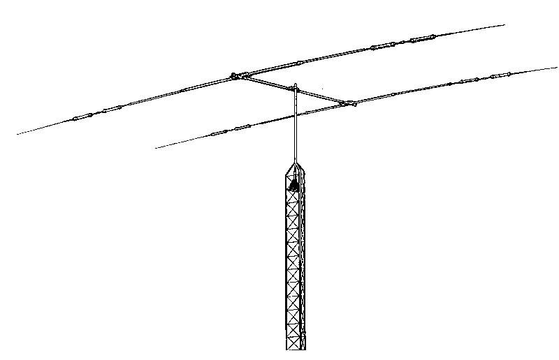 TH-2MK3 HYGAIN TH2MK3 10/15/20m 2 ELEMENT BEAM