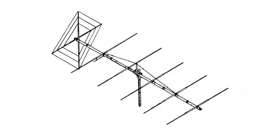 FLAT-6 MACO FLAT6 6 ELEMENT HORIZONTAL w/REFLECTOR & 5k