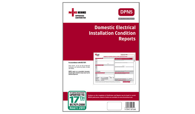 DOM ELECTRICAL CONDITION REPORT