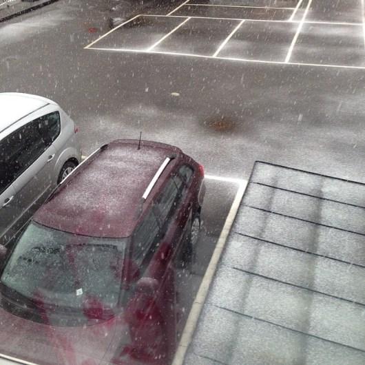 Sista snön tack!