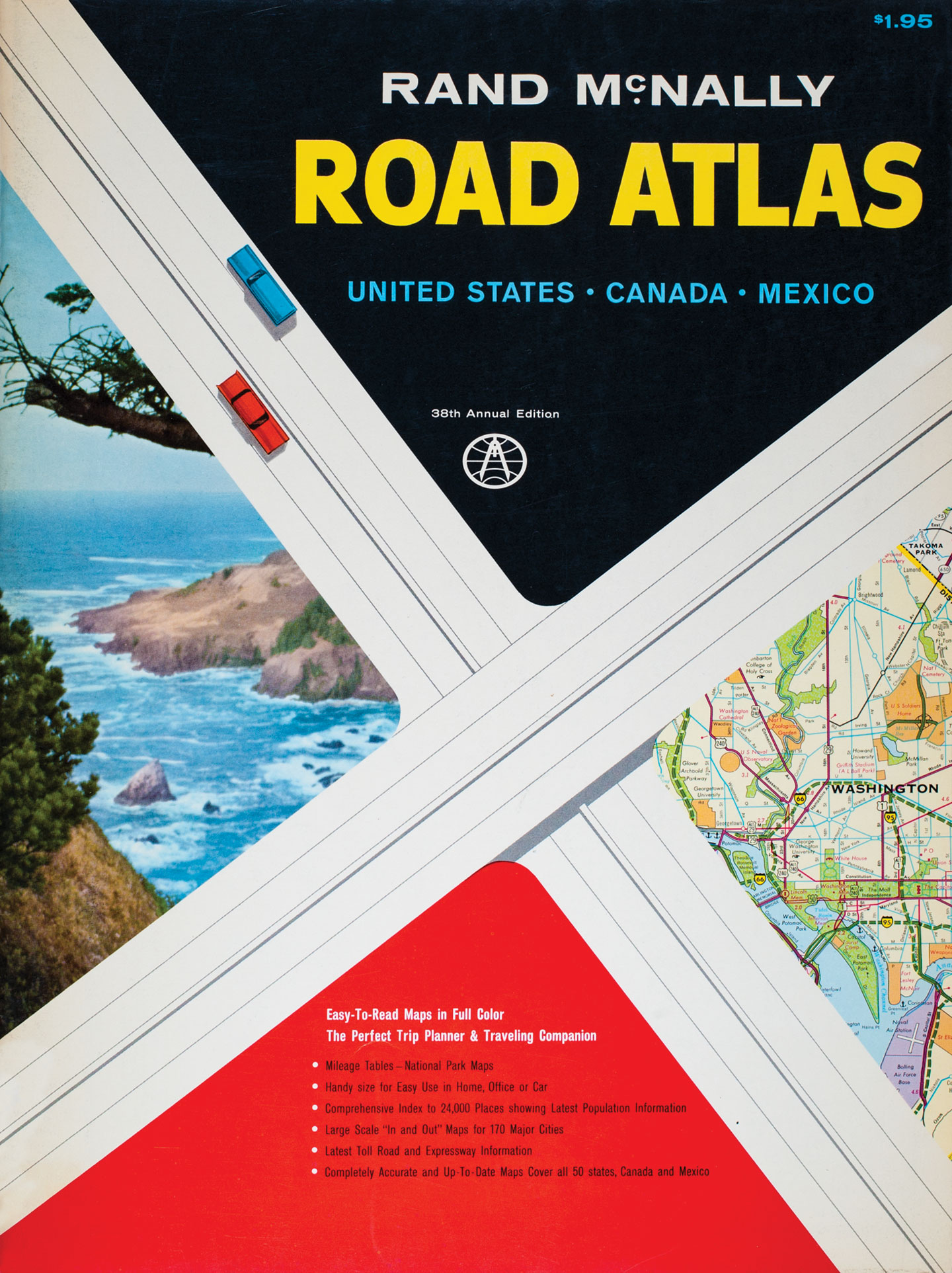 Rand McNally  Road Atlas 95th Anniversary
