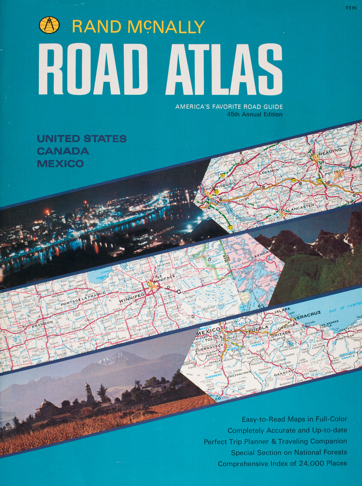 Rand McNally  Road Atlas 95th Anniversary