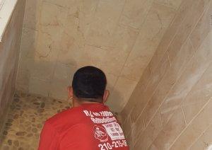 Custom Tile Bathroom Remodel by R & M Flooring