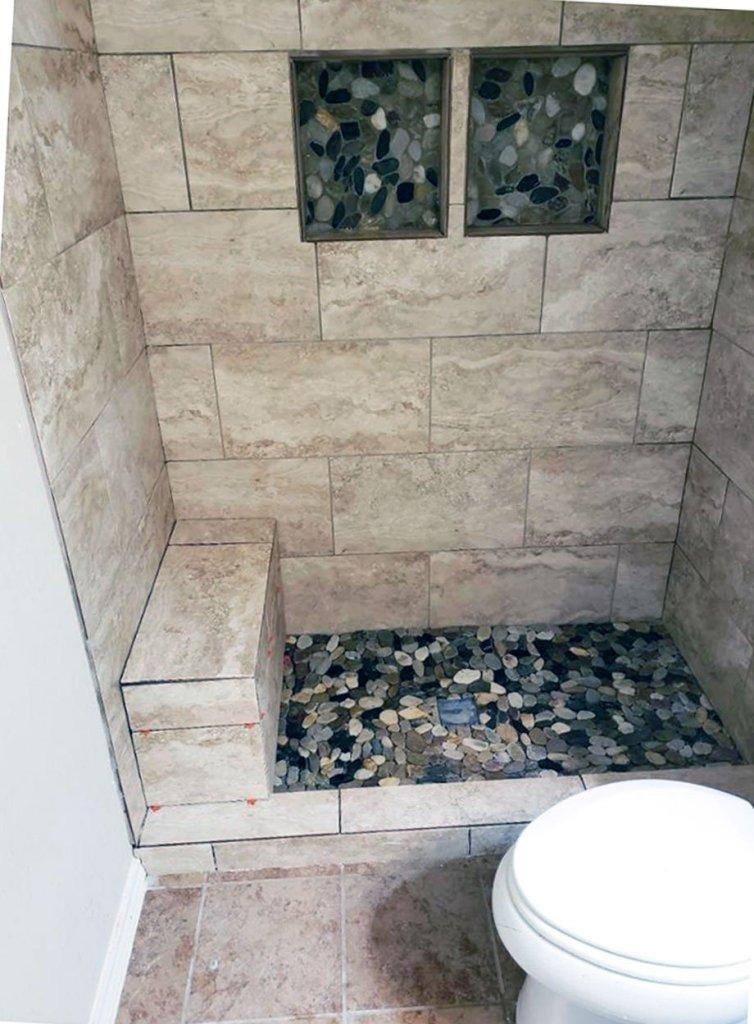 Standup Shower Conversion