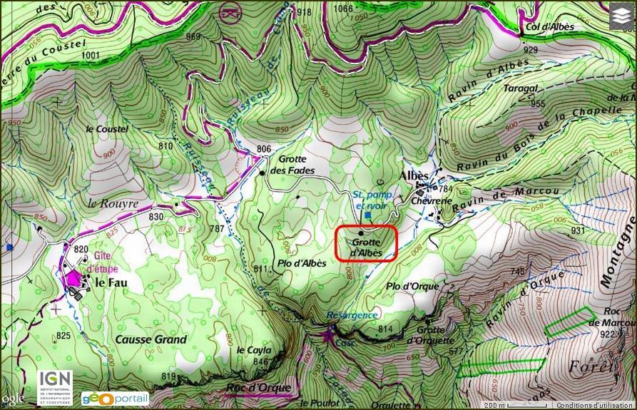 Grotte d'Albes