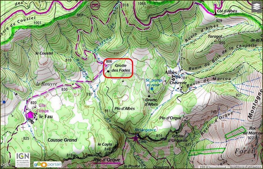 Grotte des Fades
