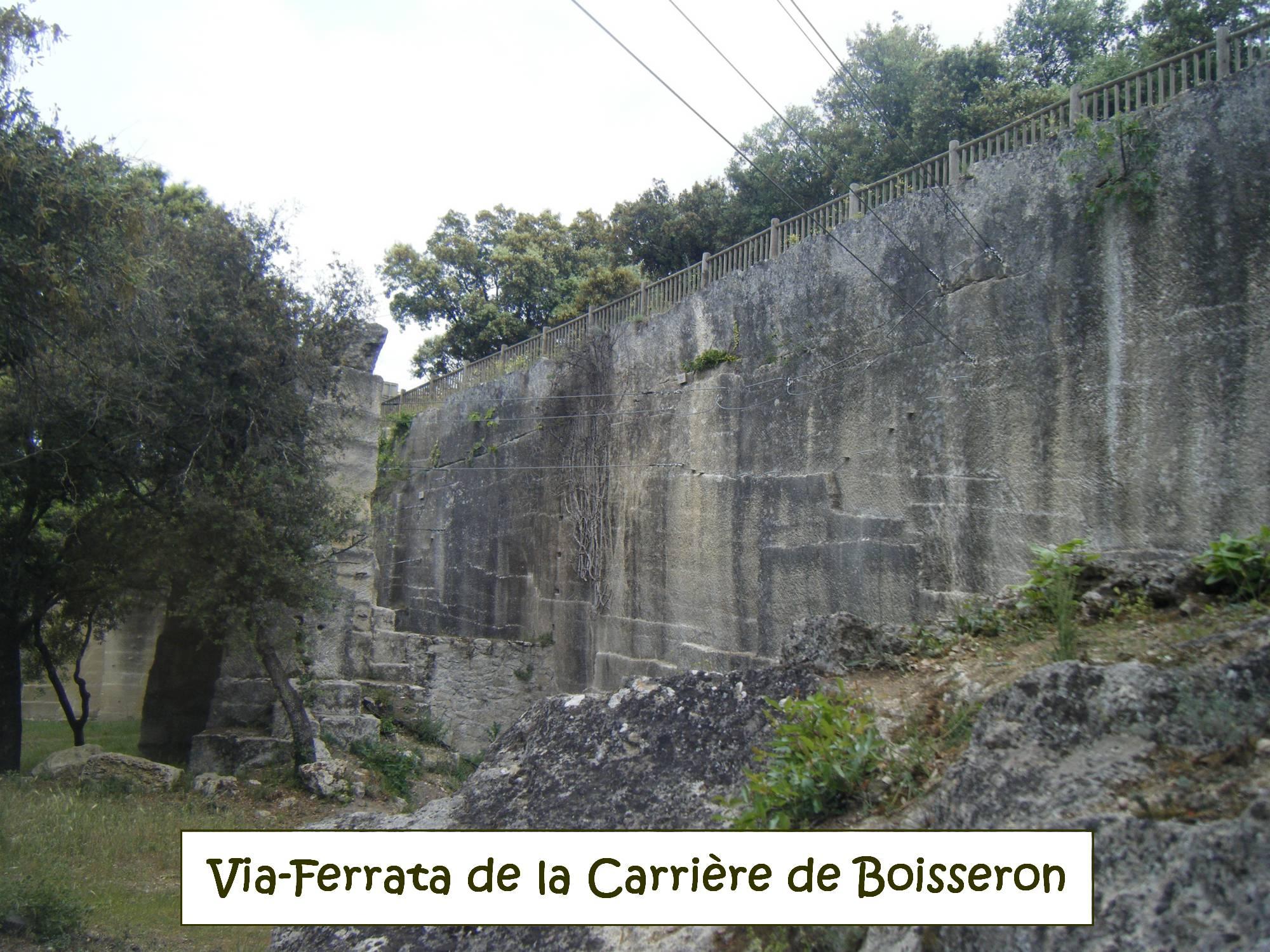 Via Ferrata de la Carrière de Boisseron